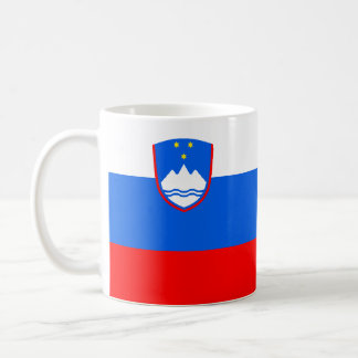 Flag of Slovenia Coffee Mug