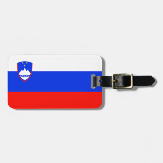 Flag of Slovenia Easy ID Personal Luggage Tag