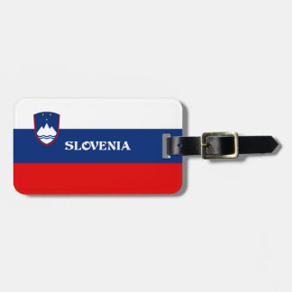 Flag of Slovenia Luggage Tag