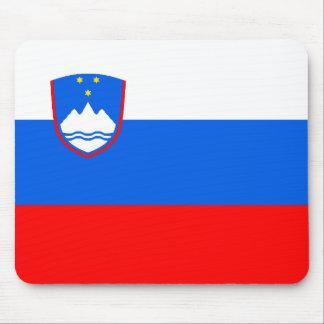 Flag of Slovenia Mouse Pad