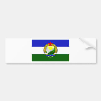 Flag of Socialist Cascadia Bumper Sticker