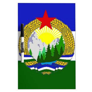 Flag of Socialist Cascadia Dry Erase Board
