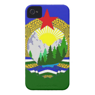 Flag of Socialist Cascadia iPhone 4 Case-Mate Case