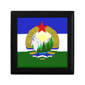 Flag of Socialist Cascadia Keepsake Box