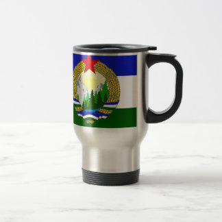 Flag of Socialist Cascadia Travel Mug