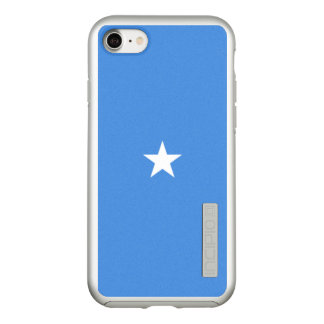 Flag of Somalia Silver iPhone Case