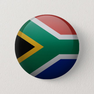 Flag of South Africa 2 Inch Round Button