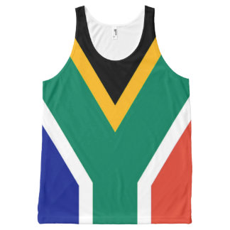 Flag of South Africa Bokke All-Over-Print Tank Top