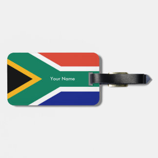 Flag of South Africa Bokke Bag Tag