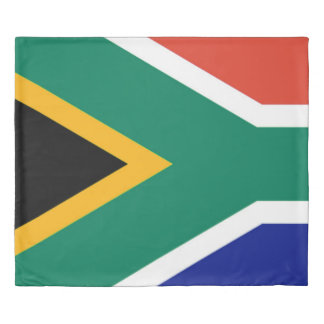 Flag of South Africa Bokke Duvet Cover