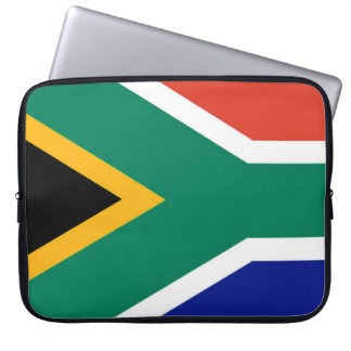 Flag of South Africa Bokke Laptop Sleeve