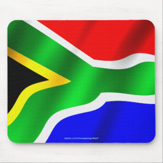 Flag of South Africa Patriotic World Flag Mousepad