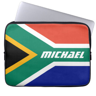 Flag of South Africa Personalized Laptop Sleeves