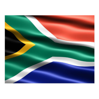 Flag of South Africa - Postcard