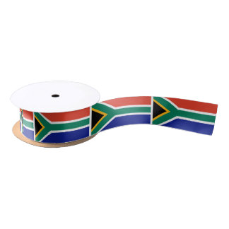Flag of South Africa Satin Ribbon