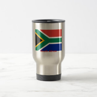 Flag of South Africa Travel Mug