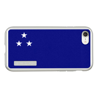 Flag of South Brazil Silver iPhone Case