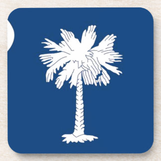 Flag Of South Carolina Coaster