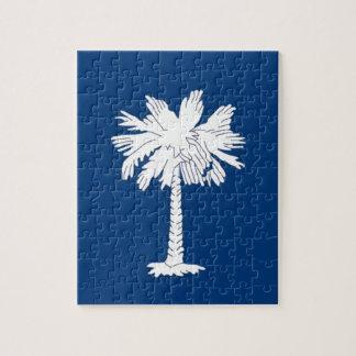 Flag Of South Carolina Jigsaw Puzzle