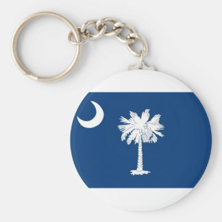 Flag Of South Carolina Keychain