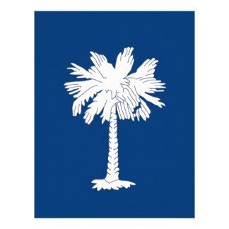 Flag Of South Carolina Letterhead