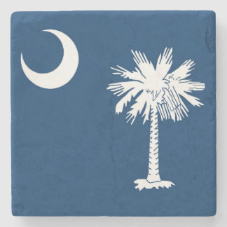 Flag of South Carolina Marble Coaster