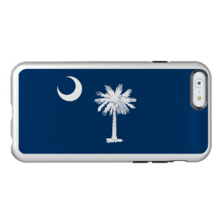 Flag of South Carolina Silver iPhone Case