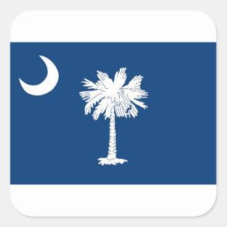 Flag Of South Carolina Square Sticker