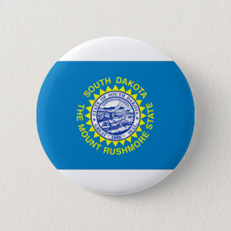 Flag Of South Dakota 2 Inch Round Button