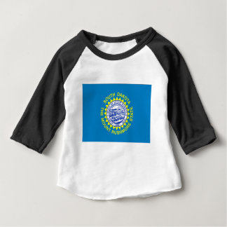 Flag Of South Dakota Baby T-Shirt
