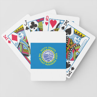 Flag Of South Dakota Bicycle Playing Cards