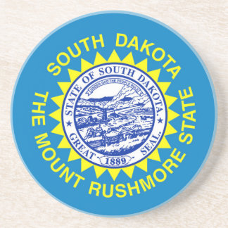 Flag Of South Dakota Coaster