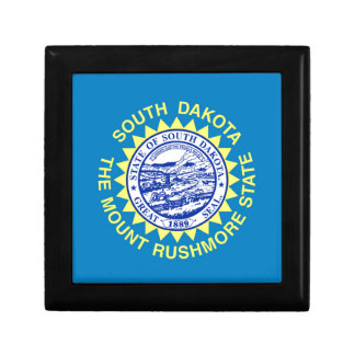 Flag Of South Dakota Gift Box