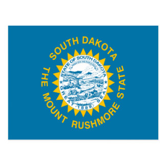 Flag of South Dakota Postcard