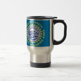 Flag Of South Dakota Travel Mug