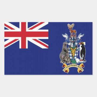 Flag of South Georgia Sticker