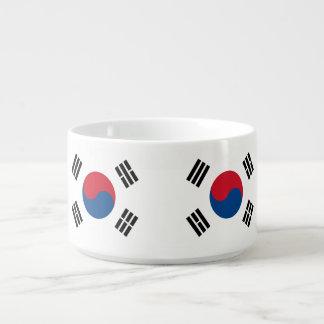 Flag of South Korea Bowl