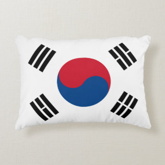 Flag of South Korea Decorative Pillow