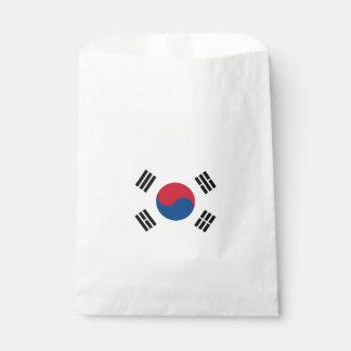Flag of South Korea Favour Bag