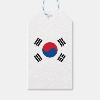 Flag of South Korea Gift Tags