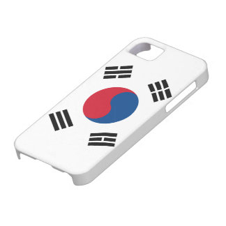 Flag of South Korea iPhone 5 Case