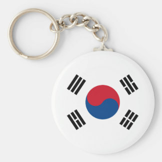 Flag of South Korea Keychain