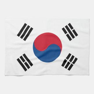 Flag of South Korea Kitchen Towel