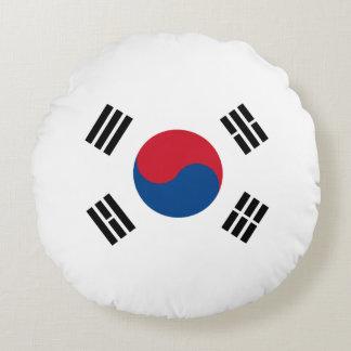 Flag of South Korea Round Pillow