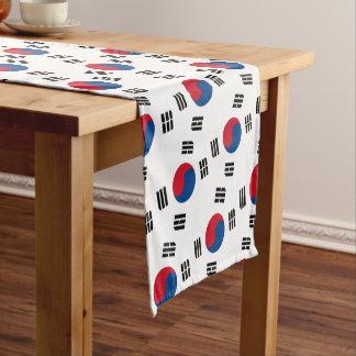 Flag of South Korea Short Table Runner