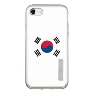 Flag of South Korea Silver iPhone Case