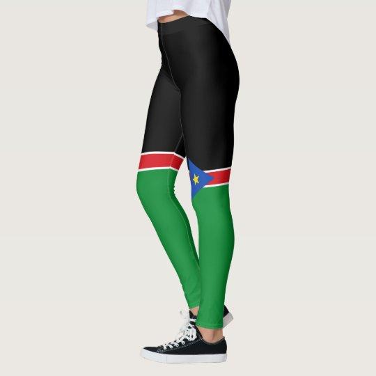 Flag of South Sudan Leggings