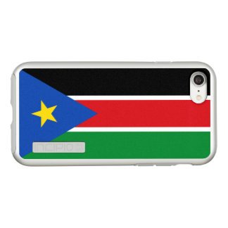 Flag of South Sudan Silver iPhone Case