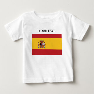 Flag of Spain Baby T-Shirt