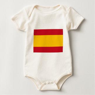 Flag of Spain, Bandera de España, Bandera Española Baby Bodysuit